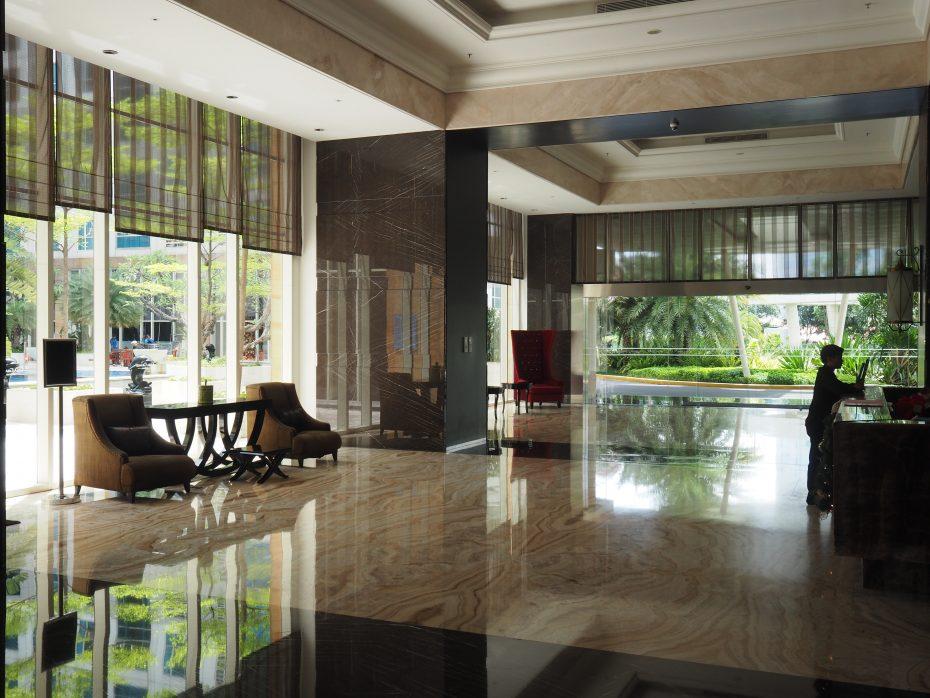 Reception Lobby Casa Grande Jakarta