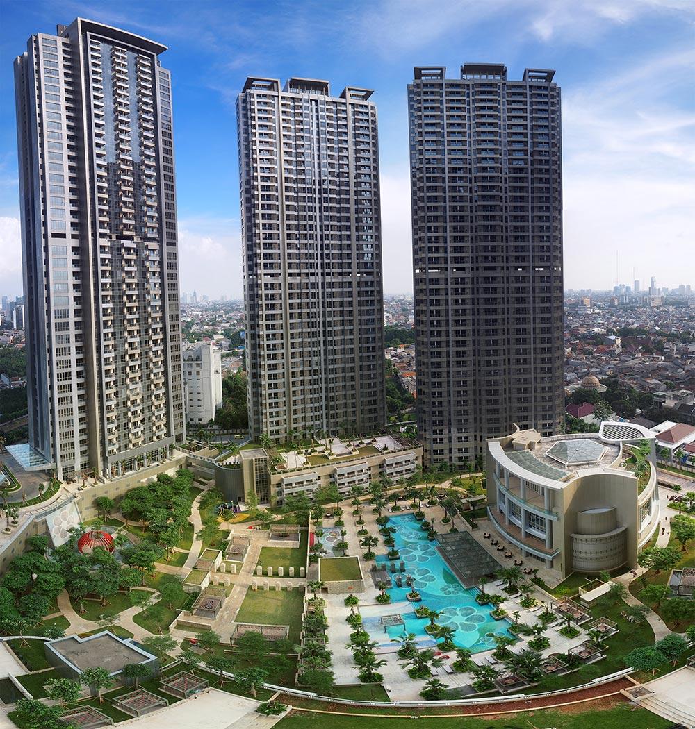 Central Park Apartments Jakarta: Taman Anggrek Residences