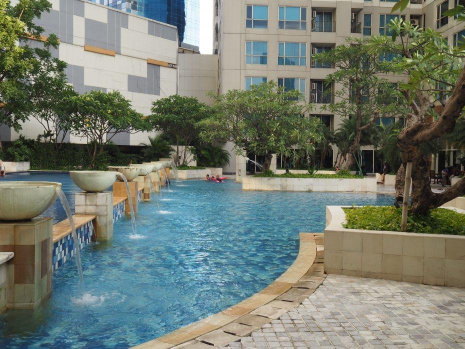 Swimming In Casa Grande Jakarta